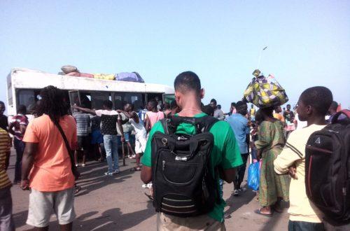 Article : Abidjan: Les apprentis gbaka perturbent la circulation pour l'un des leurs tabassé