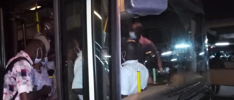 Article : Abidjan/Nombre limité des passagers dans les bus : Aux heures de pointe, pas du tout facile